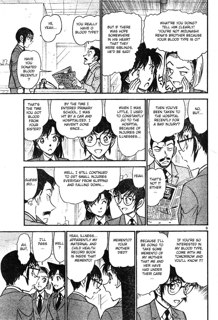 Detective Conan Chapter 587  Online Free Manga Read Image 9