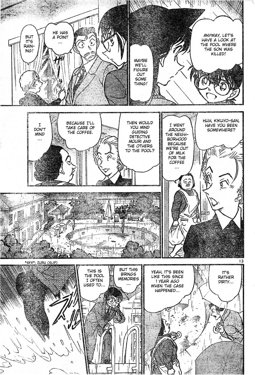Detective Conan Chapter 588  Online Free Manga Read Image 13