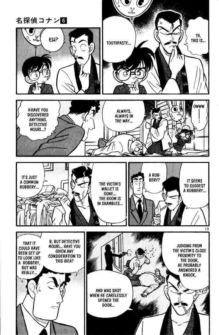 Detective Conan Chapter 59  Online Free Manga Read Image 13