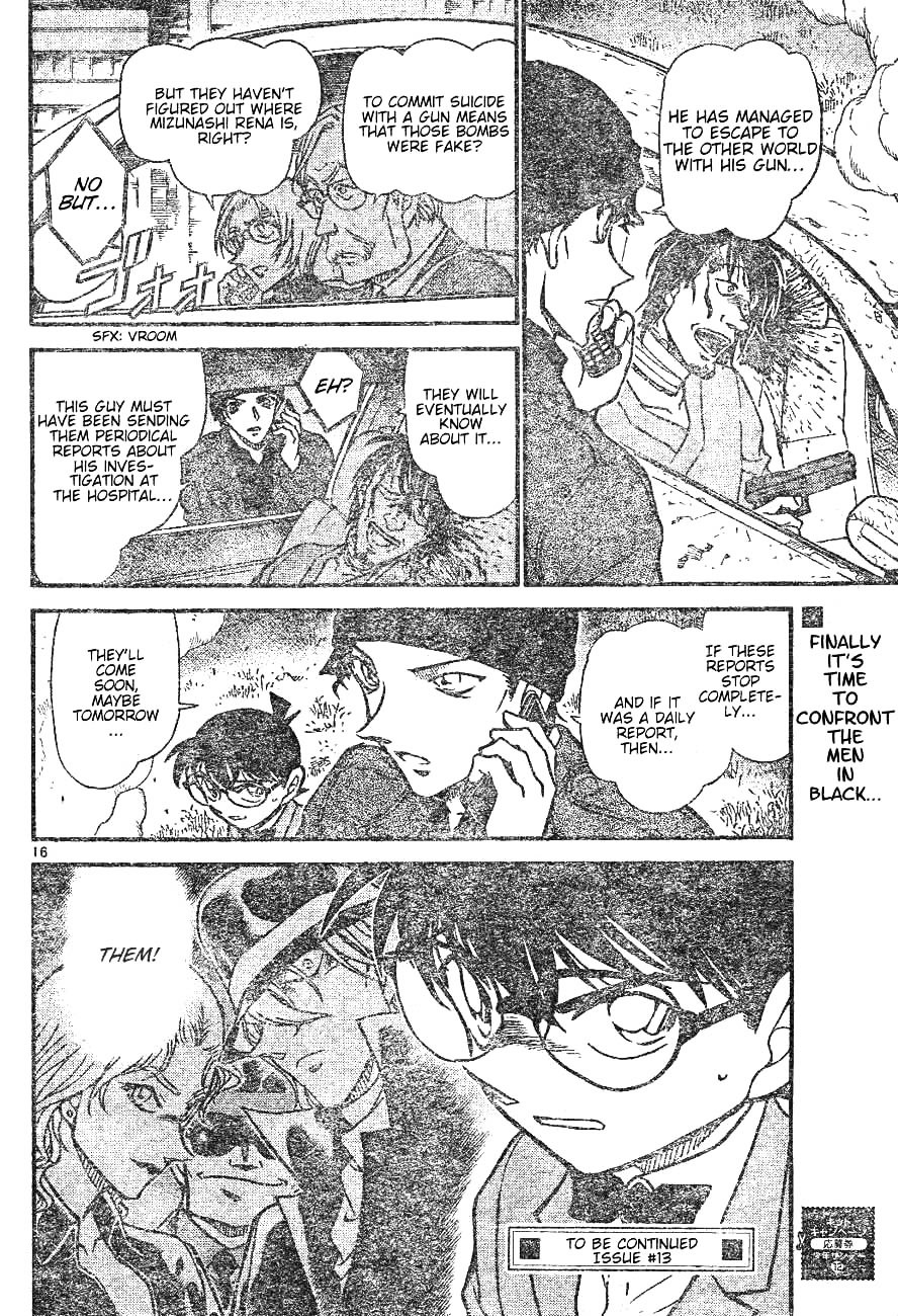 Detective Conan Chapter 598  Online Free Manga Read Image 16