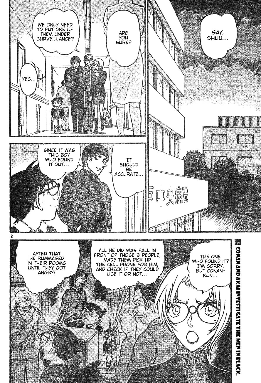 Detective Conan Chapter 598  Online Free Manga Read Image 2