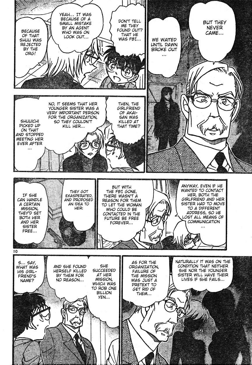 Detective Conan Chapter 599  Online Free Manga Read Image 10