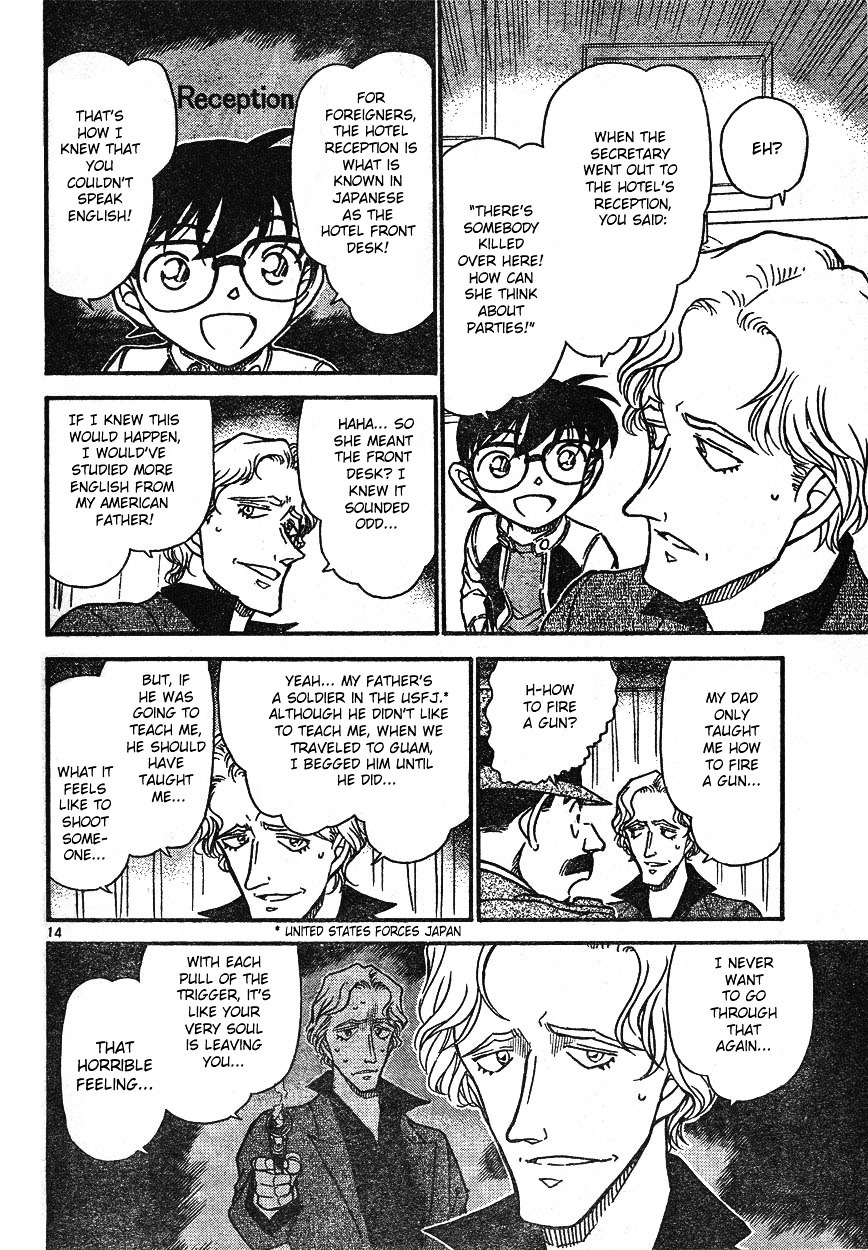 Detective Conan Chapter 608  Online Free Manga Read Image 14