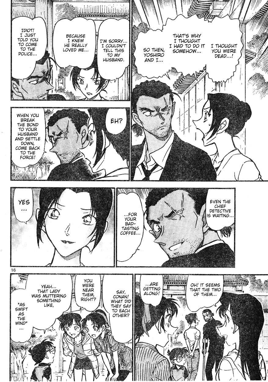 Detective Conan Chapter 618  Online Free Manga Read Image 16
