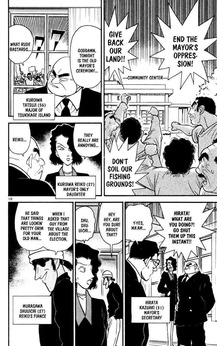 Detective Conan Chapter 62  Online Free Manga Read Image 10