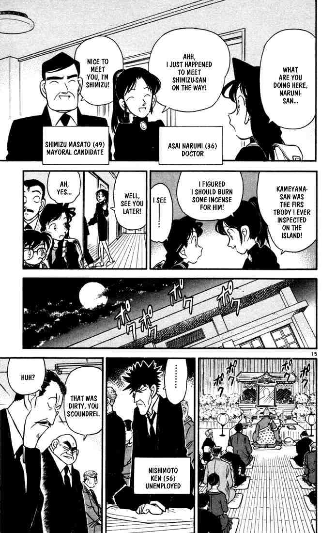 Detective Conan Chapter 62  Online Free Manga Read Image 15