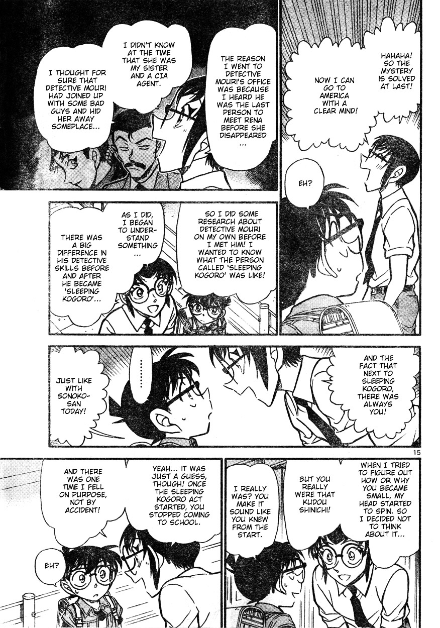 Detective Conan Chapter 621  Online Free Manga Read Image 15