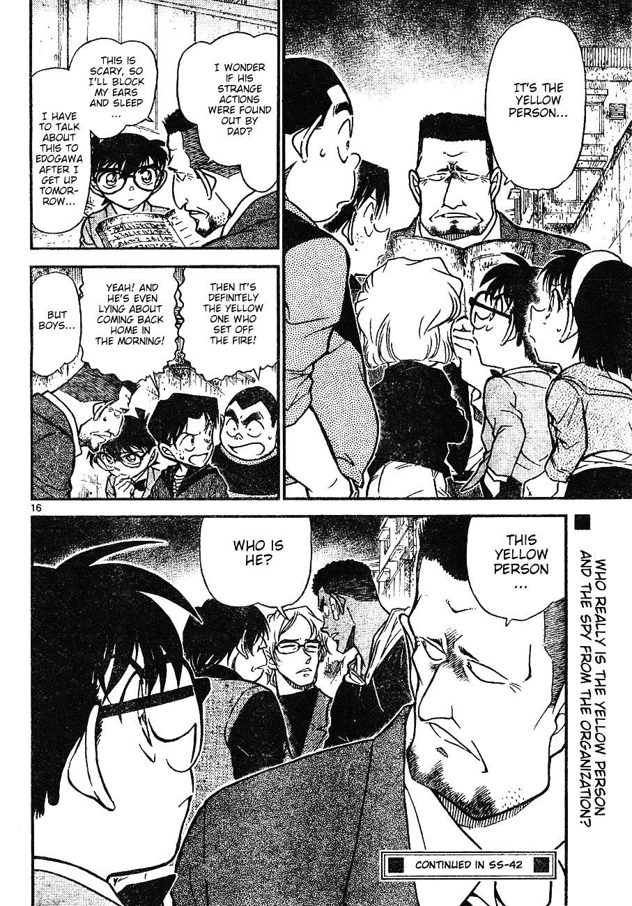 Detective Conan Chapter 622  Online Free Manga Read Image 16