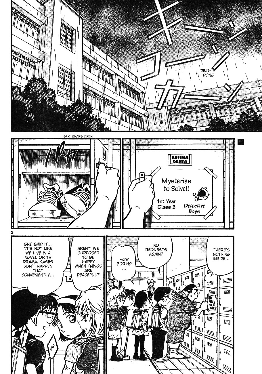 Detective Conan Chapter 622  Online Free Manga Read Image 2