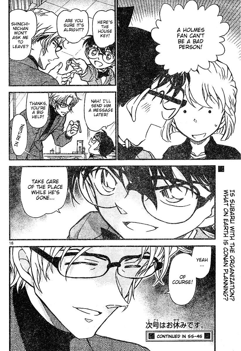 Detective Conan Chapter 624  Online Free Manga Read Image 16