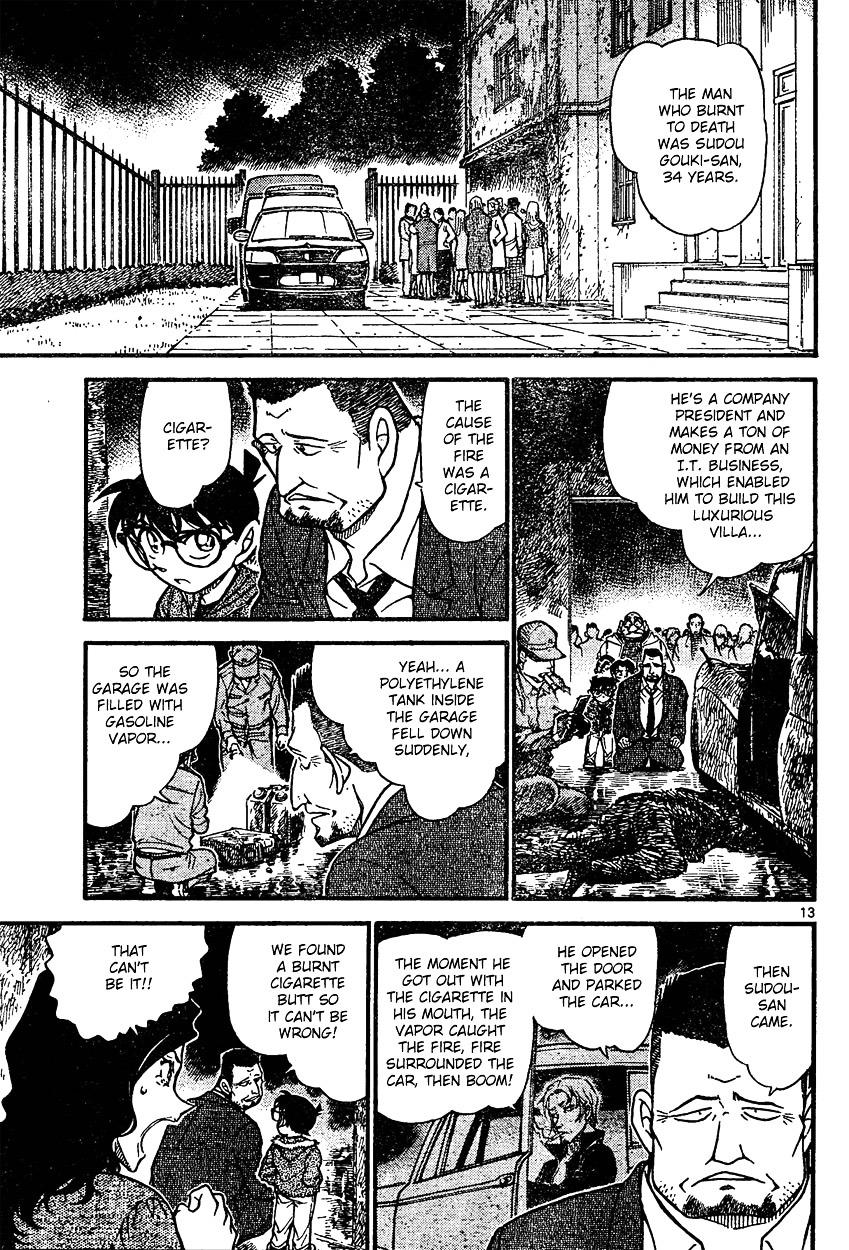 Detective Conan Chapter 635  Online Free Manga Read Image 13