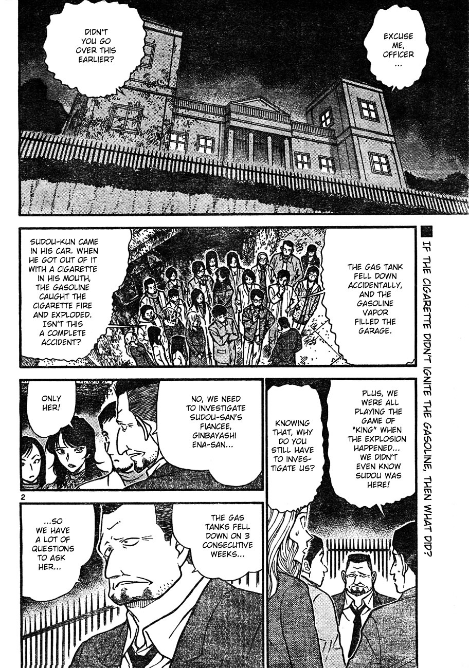 Detective Conan Chapter 637  Online Free Manga Read Image 2