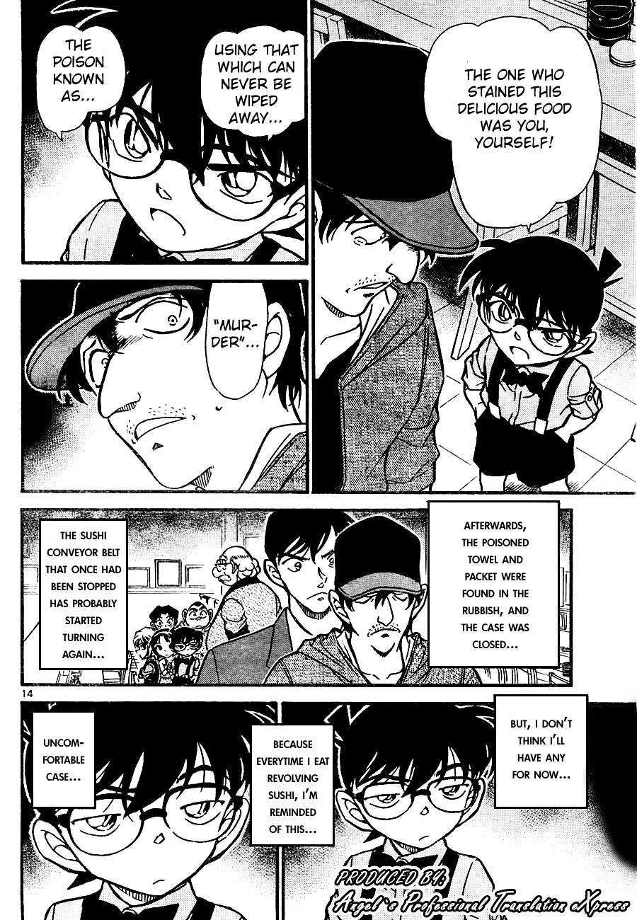 Detective Conan Chapter 657  Online Free Manga Read Image 14