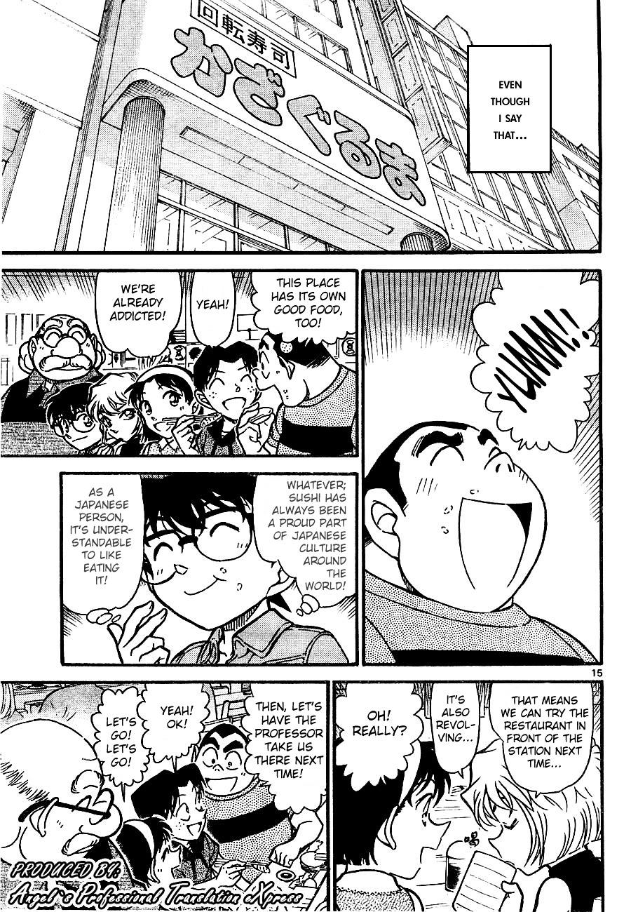 Detective Conan Chapter 657  Online Free Manga Read Image 15