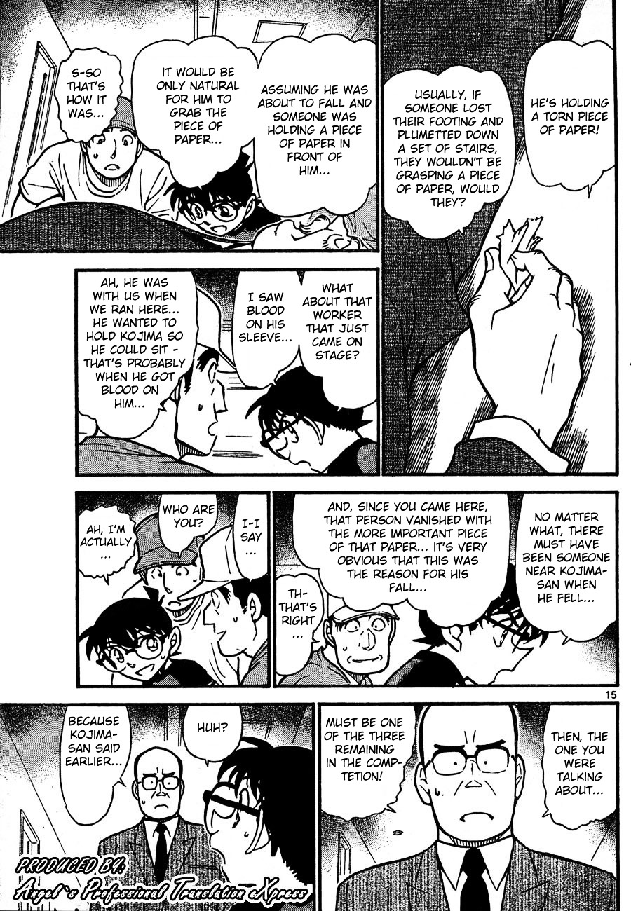 Detective Conan Chapter 658  Online Free Manga Read Image 15