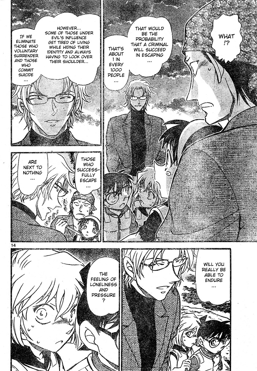Detective Conan Chapter 666  Online Free Manga Read Image 14