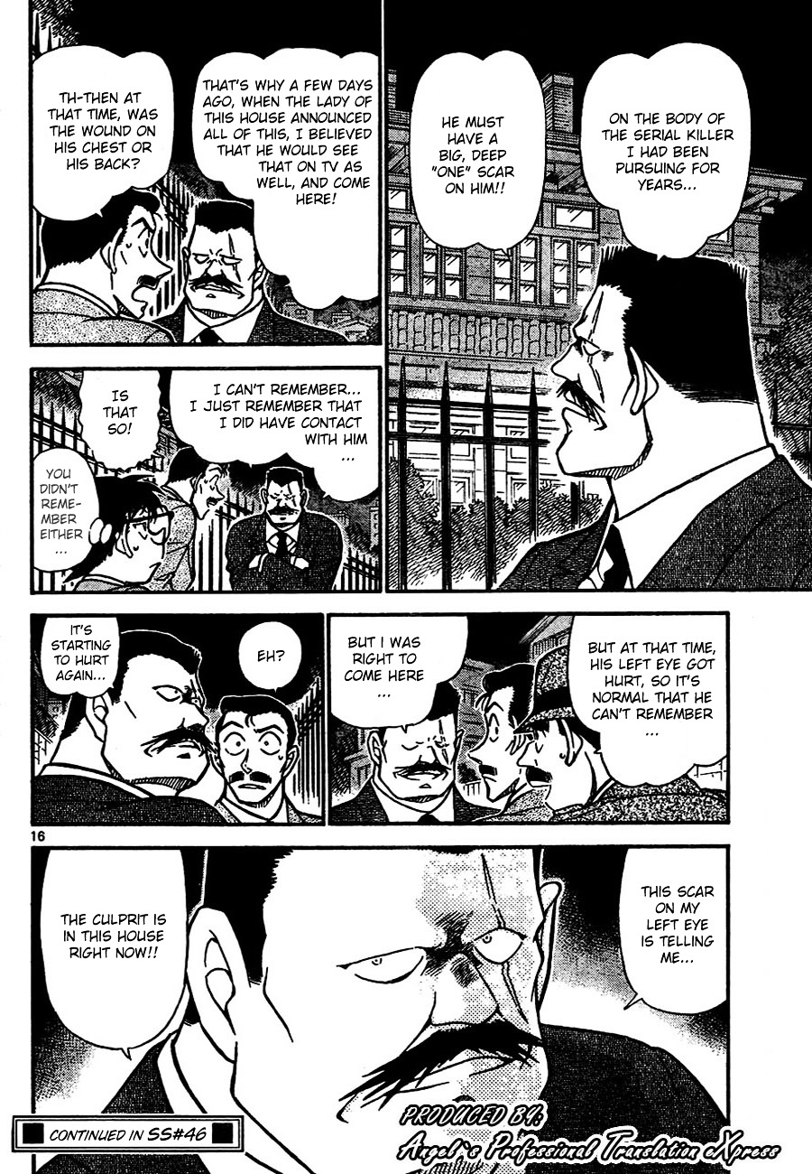 Detective Conan Chapter 667  Online Free Manga Read Image 16
