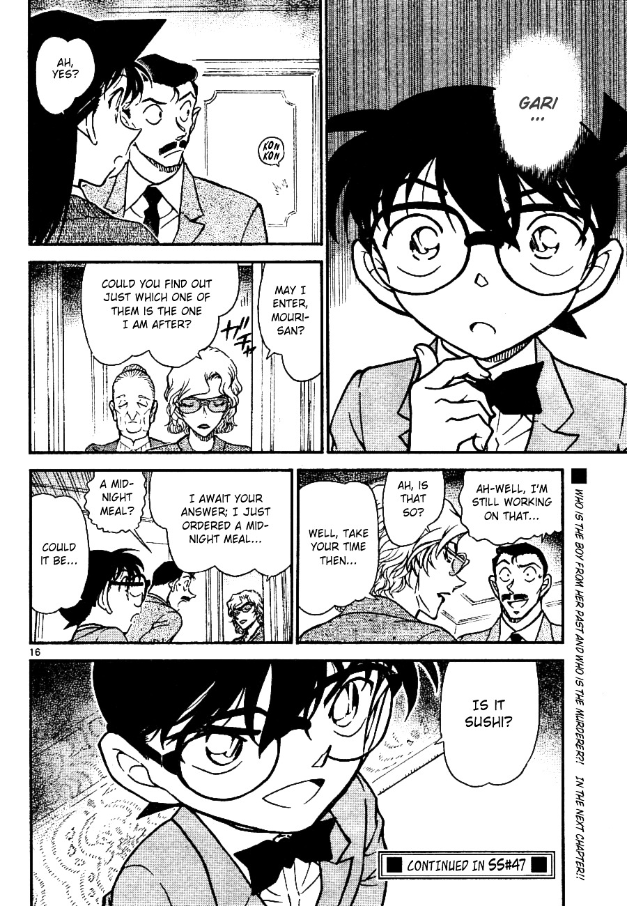 Detective Conan Chapter 668  Online Free Manga Read Image 16