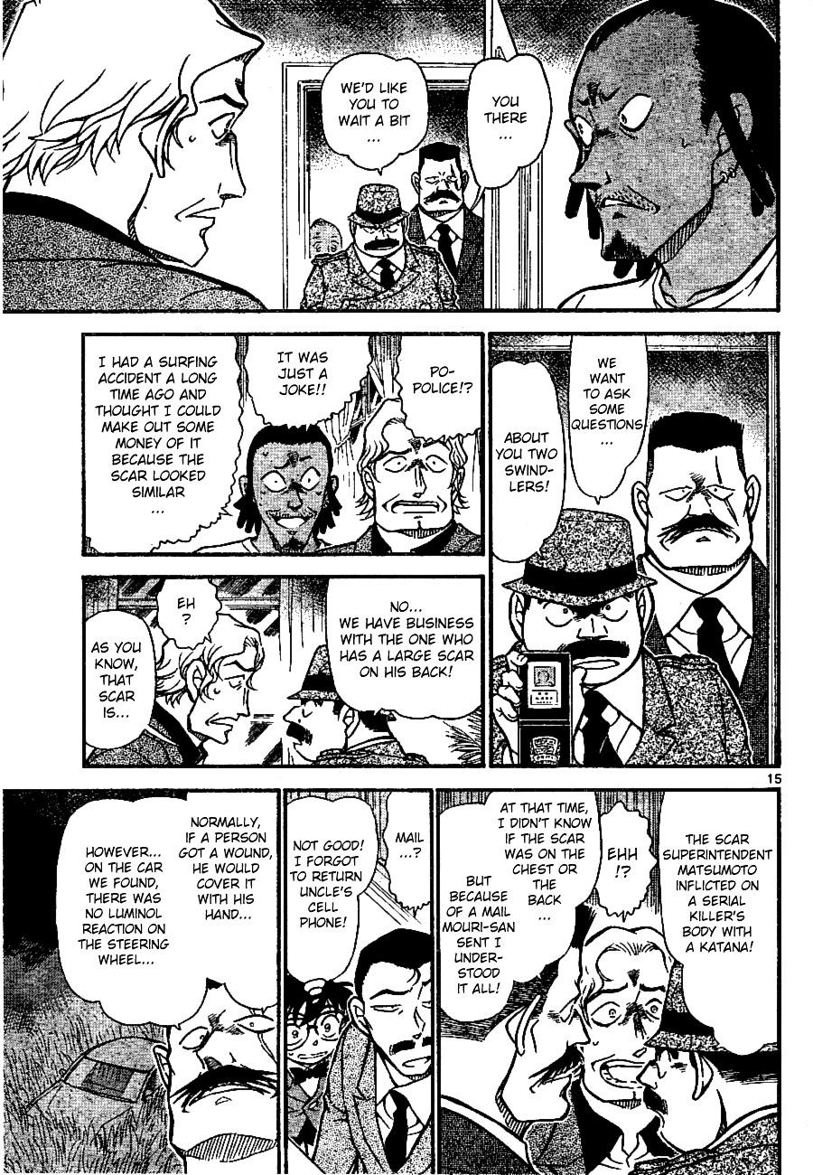 Detective Conan Chapter 669  Online Free Manga Read Image 15