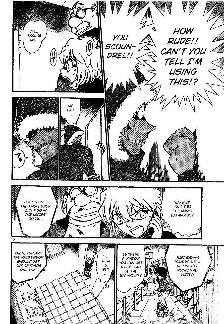 Detective Conan Chapter 681  Online Free Manga Read Image 12