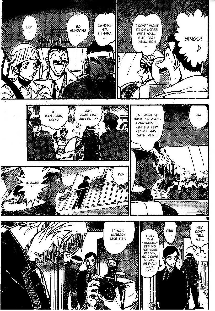 Detective Conan Chapter 683  Online Free Manga Read Image 15
