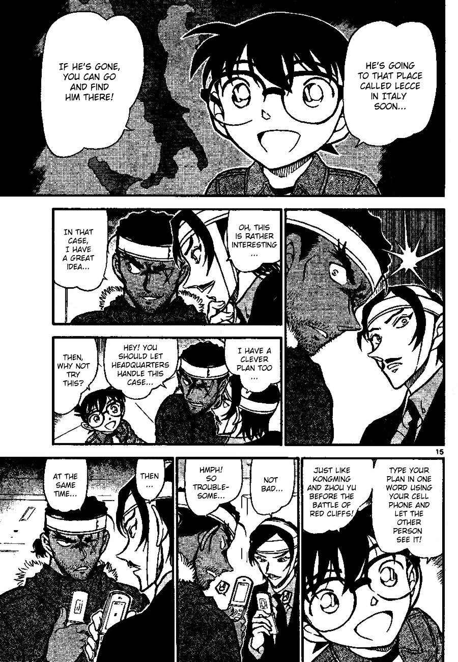 Detective Conan Chapter 685  Online Free Manga Read Image 15