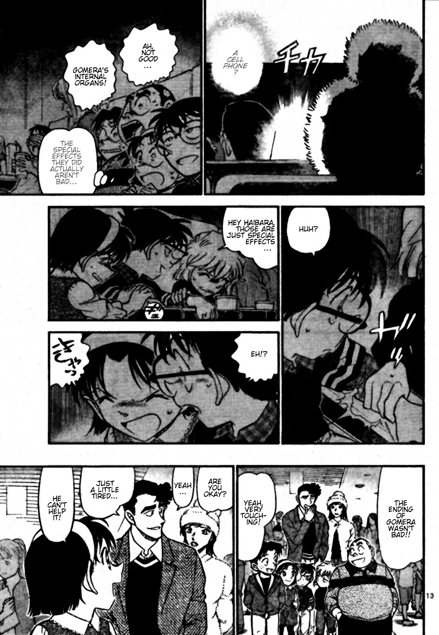 Detective Conan Chapter 687  Online Free Manga Read Image 13