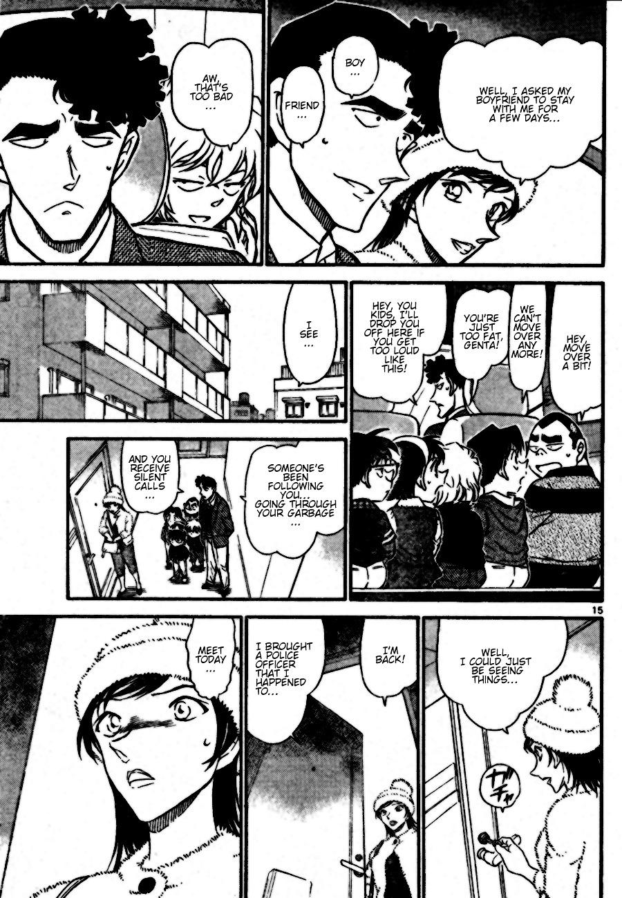 Detective Conan Chapter 687  Online Free Manga Read Image 15