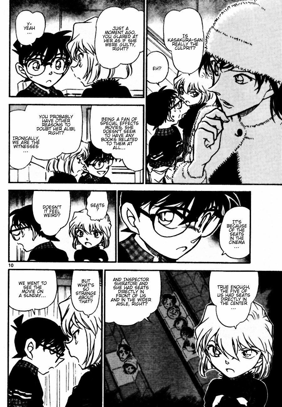 Detective Conan Chapter 688  Online Free Manga Read Image 10