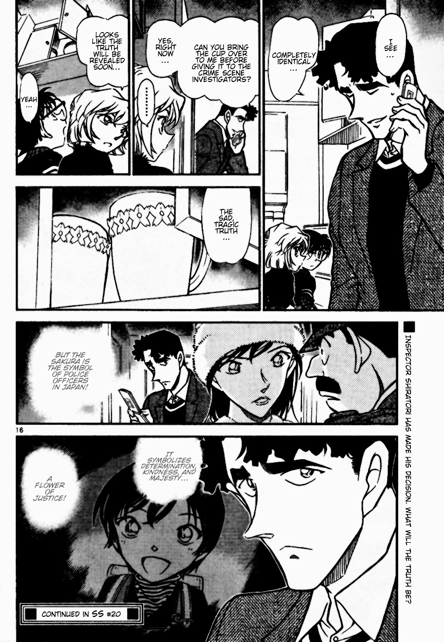 Detective Conan Chapter 688  Online Free Manga Read Image 16