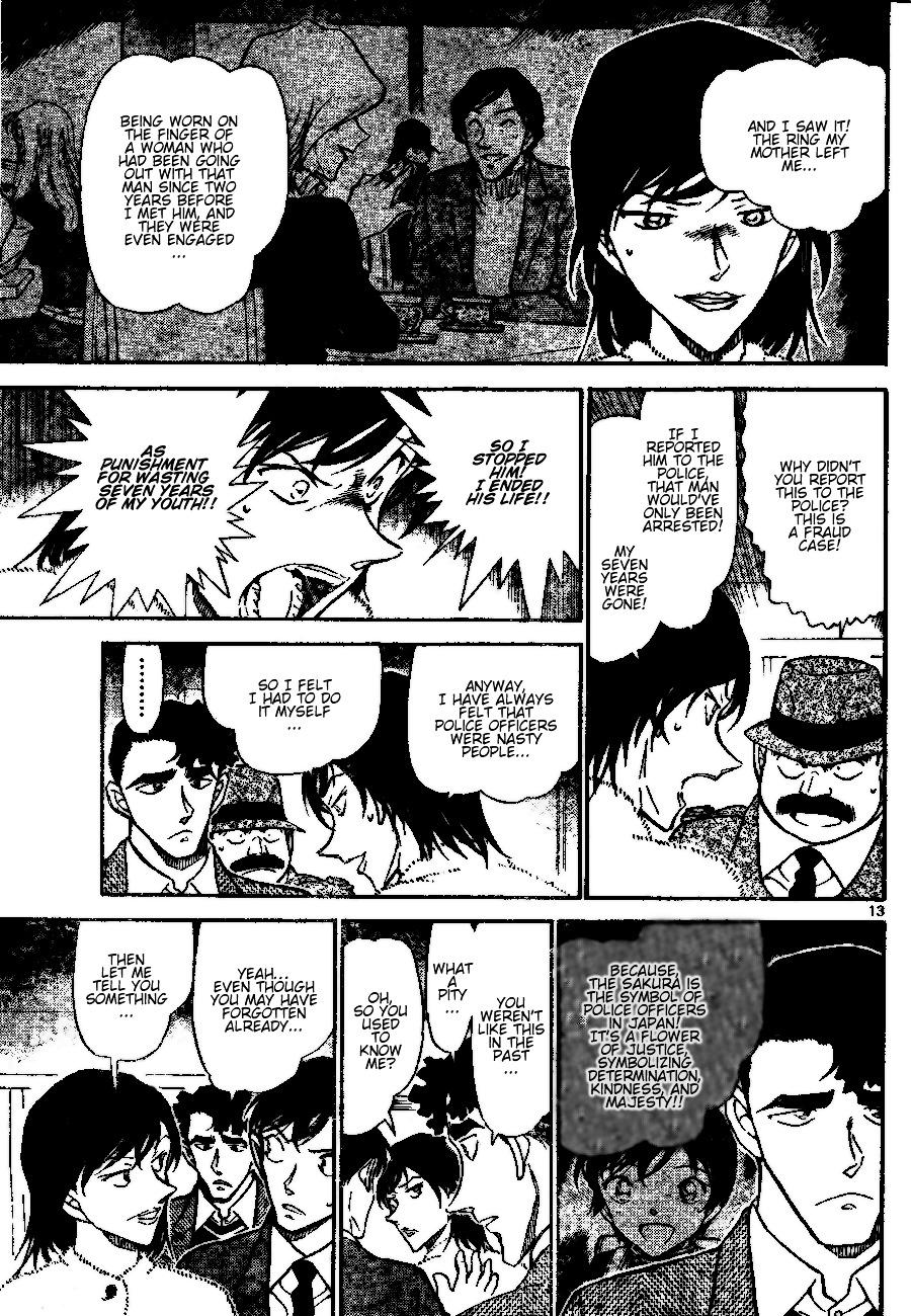 Detective Conan Chapter 689  Online Free Manga Read Image 13