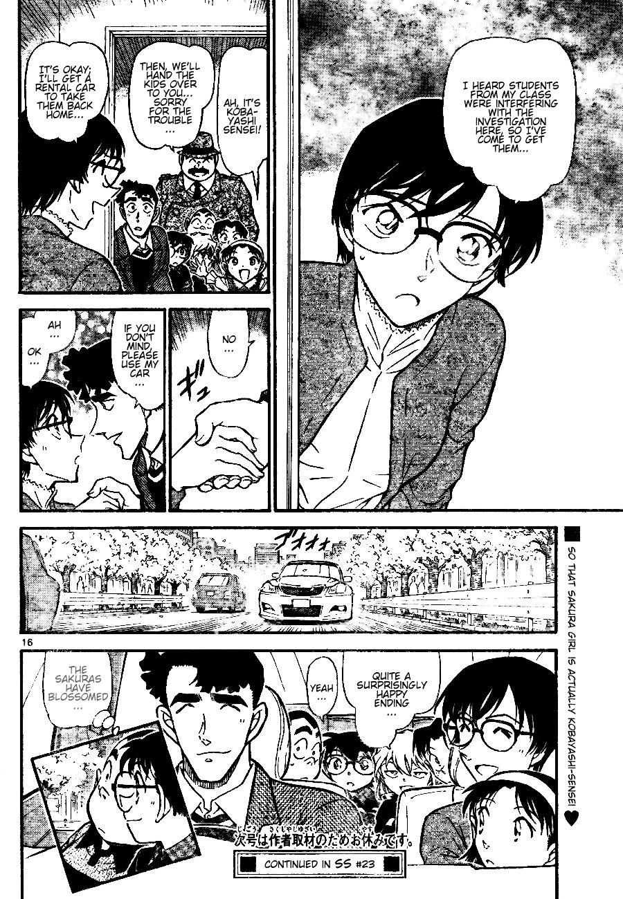 Detective Conan Chapter 689  Online Free Manga Read Image 16