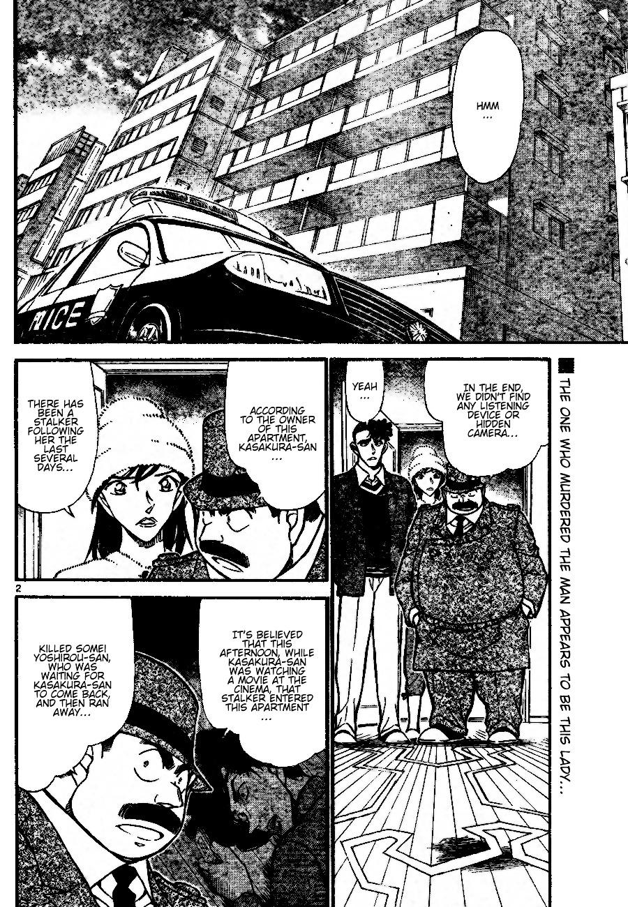 Detective Conan Chapter 689  Online Free Manga Read Image 2