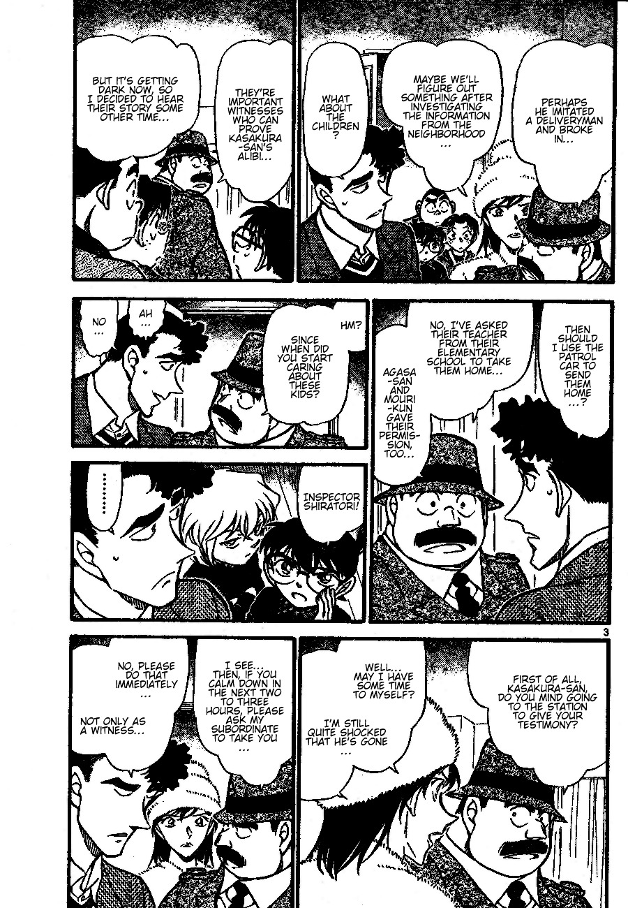 Detective Conan Chapter 689  Online Free Manga Read Image 3