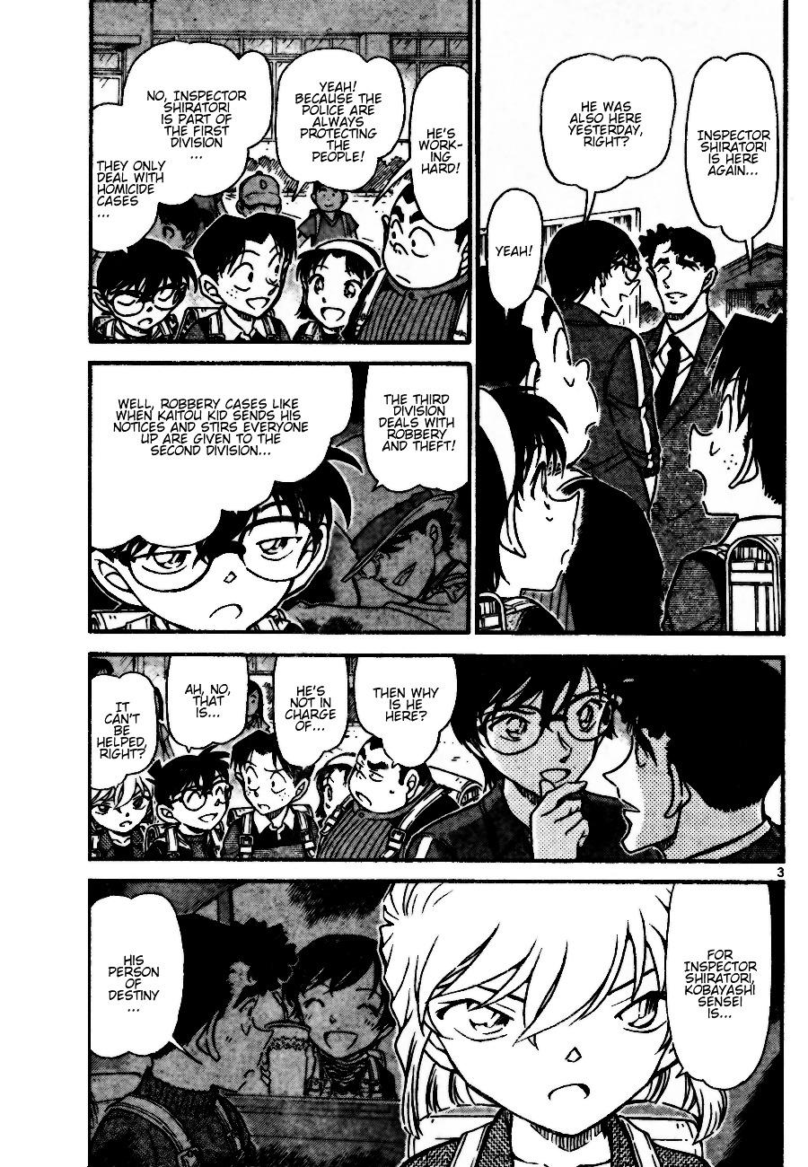 Detective Conan Chapter 690  Online Free Manga Read Image 3