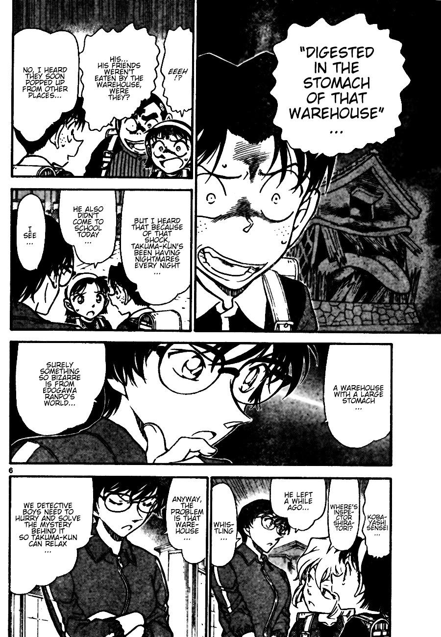 Detective Conan Chapter 690  Online Free Manga Read Image 6