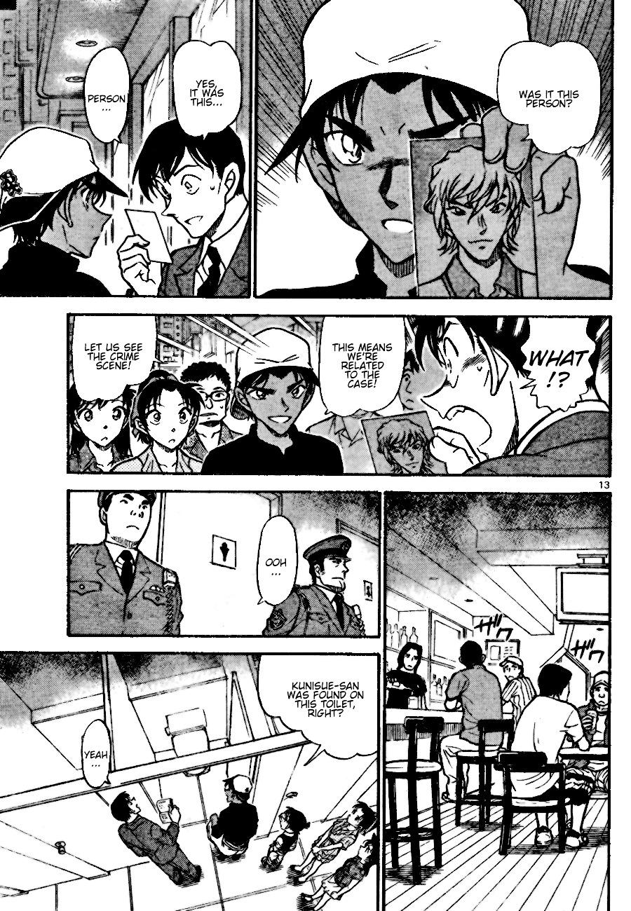 Detective Conan Chapter 693  Online Free Manga Read Image 13