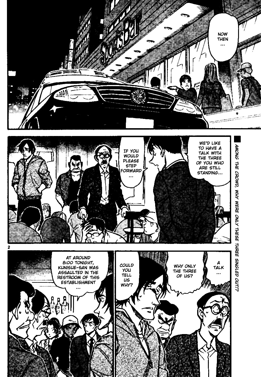 Detective Conan Chapter 694  Online Free Manga Read Image 2