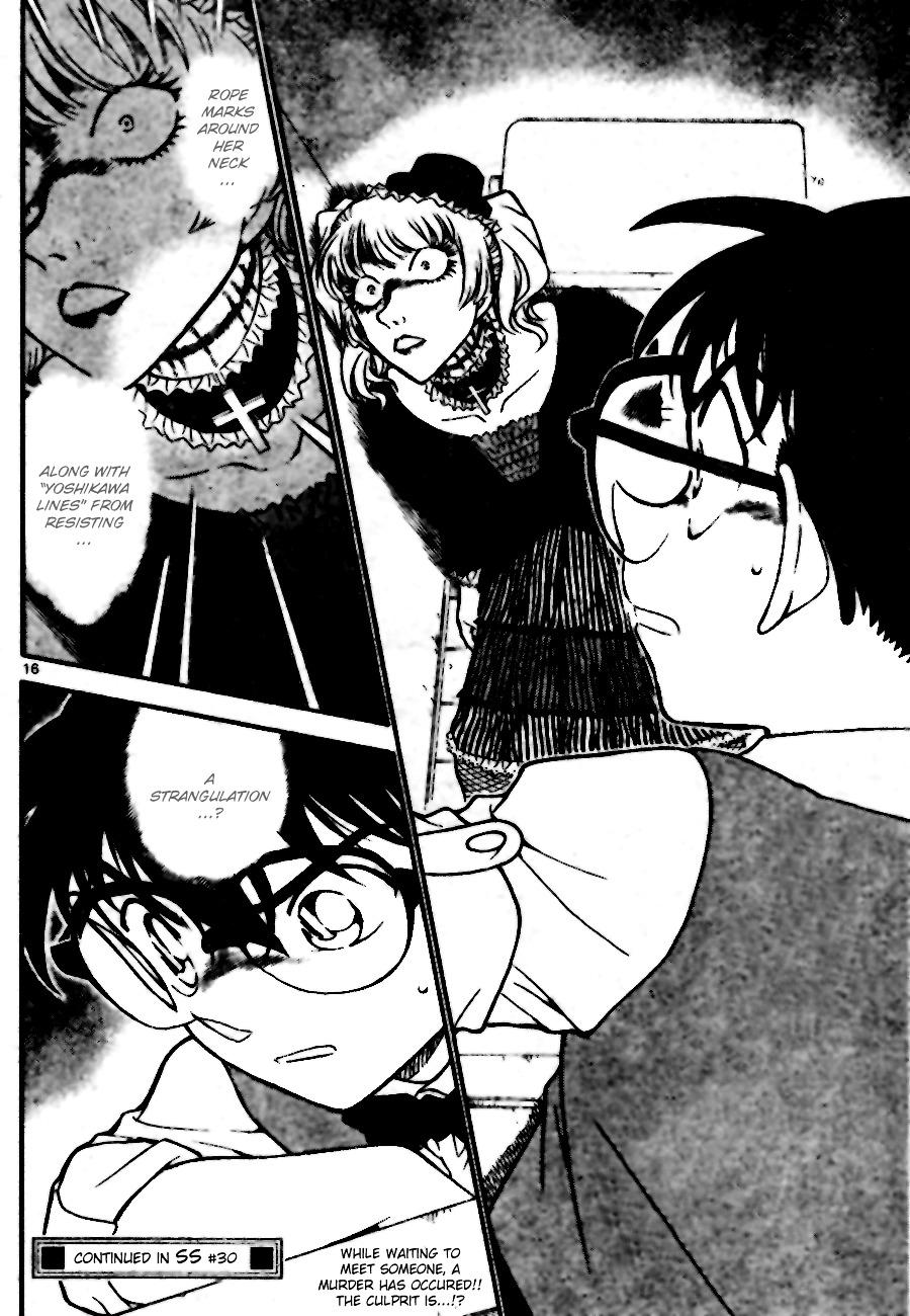 Detective Conan Chapter 696  Online Free Manga Read Image 16