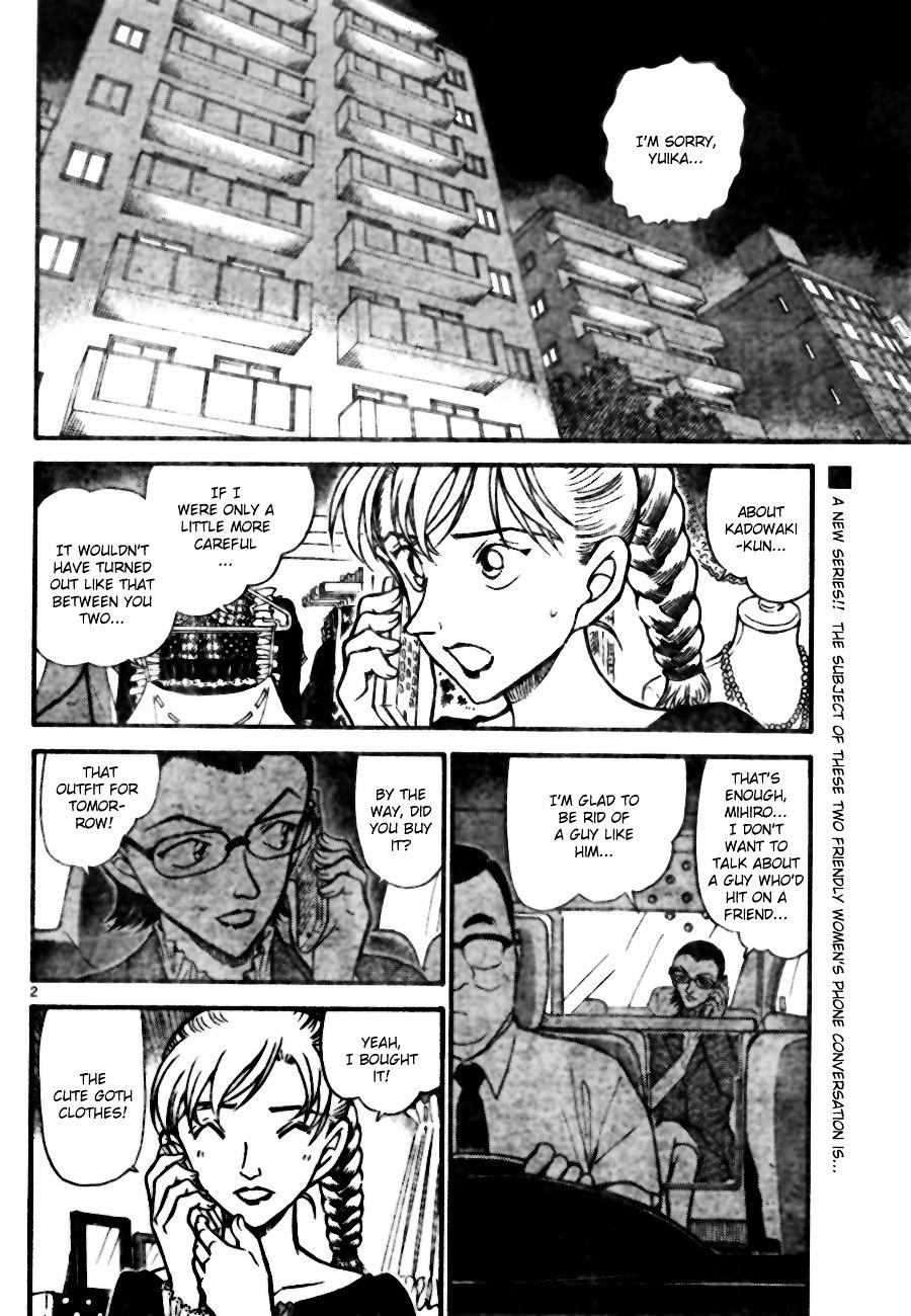 Detective Conan Chapter 696  Online Free Manga Read Image 2