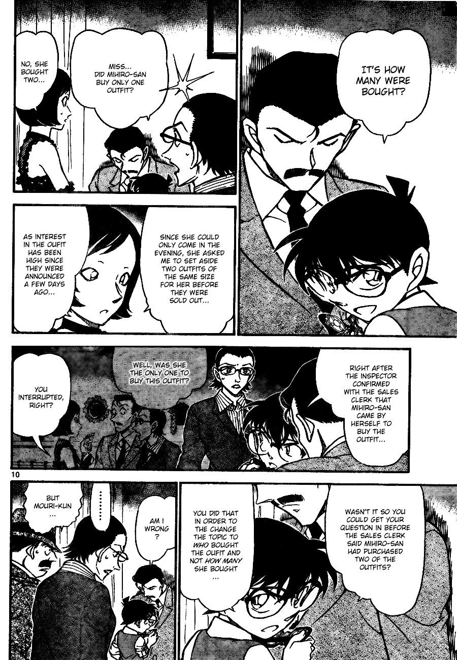 Detective Conan Chapter 698  Online Free Manga Read Image 10