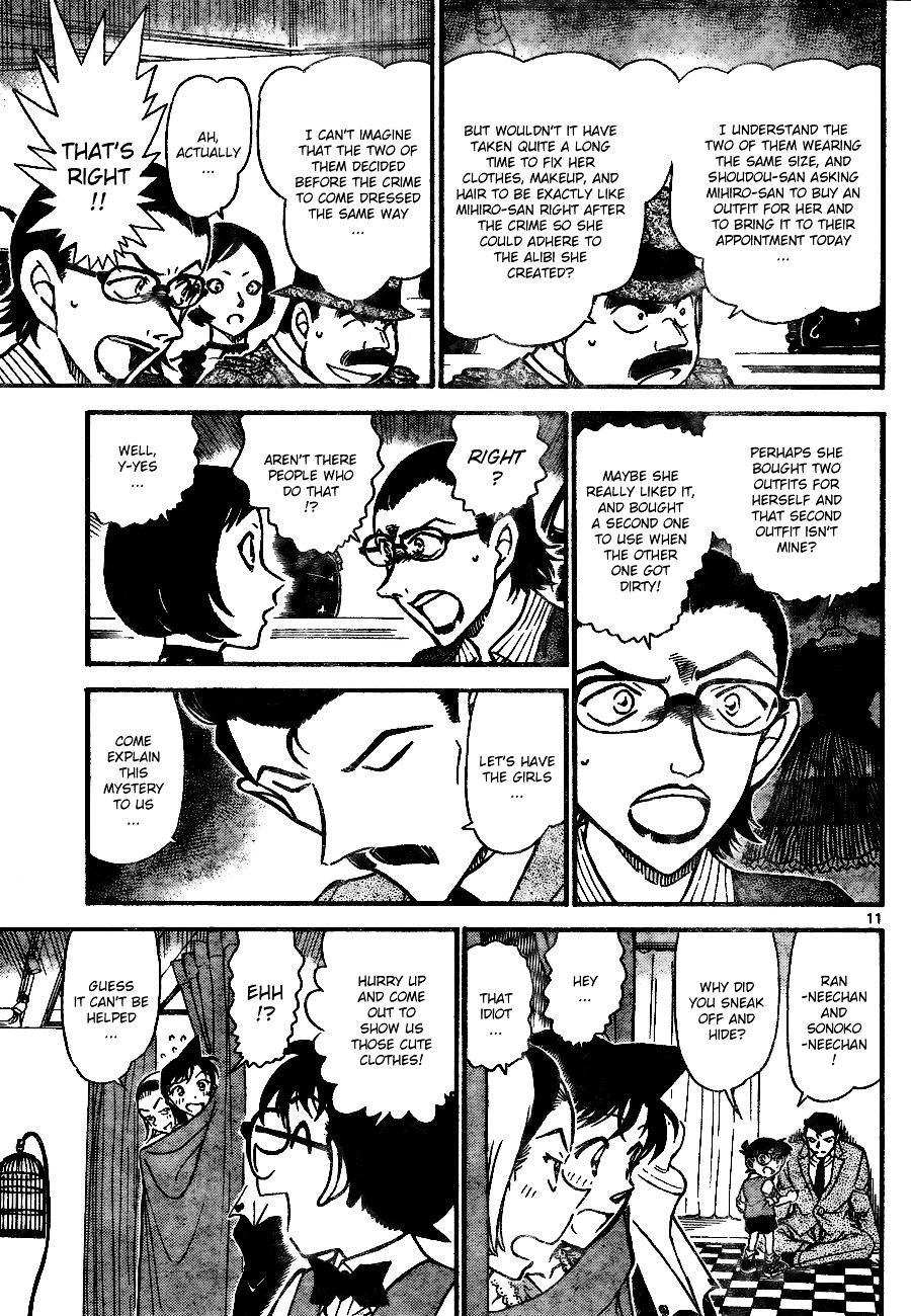Detective Conan Chapter 698  Online Free Manga Read Image 11