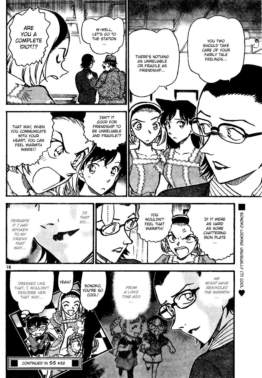 Detective Conan Chapter 698  Online Free Manga Read Image 16