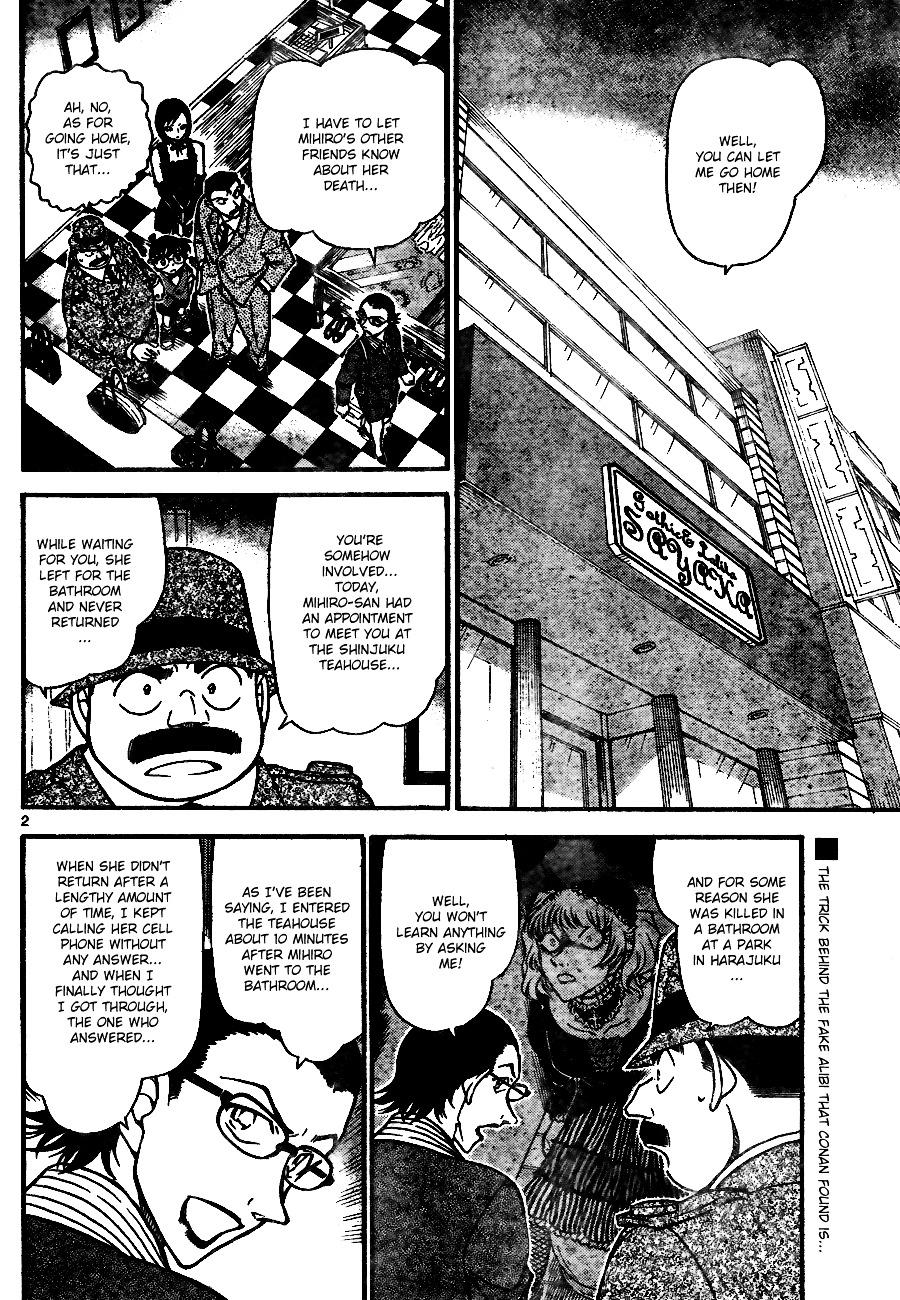 Detective Conan Chapter 698  Online Free Manga Read Image 2