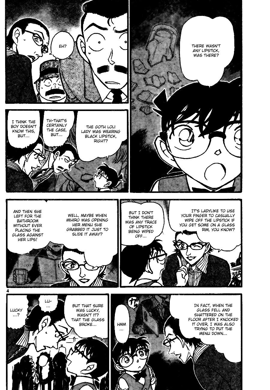 Detective Conan Chapter 698  Online Free Manga Read Image 4