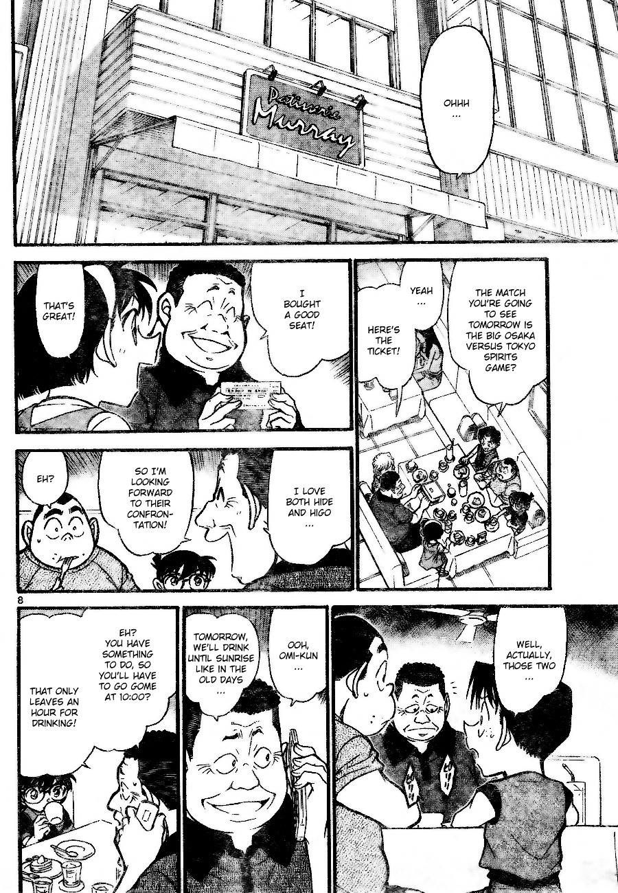 Detective Conan Chapter 699  Online Free Manga Read Image 8