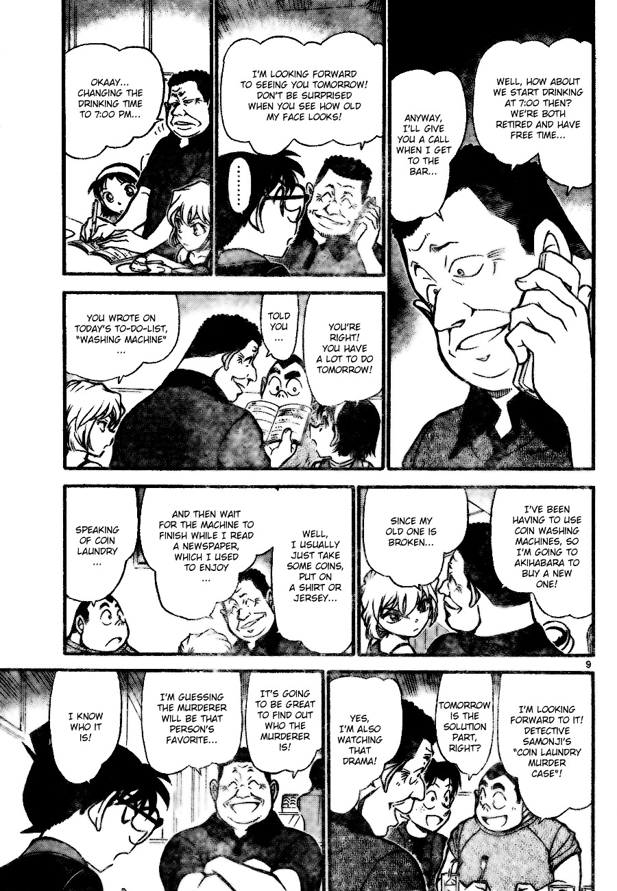 Detective Conan Chapter 699  Online Free Manga Read Image 9