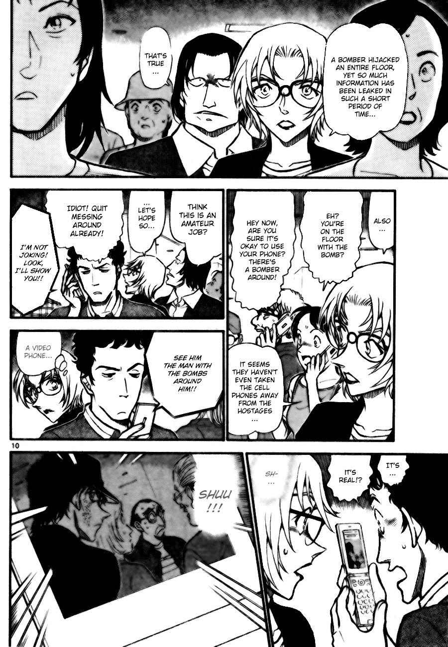 Detective Conan Chapter 702  Online Free Manga Read Image 10
