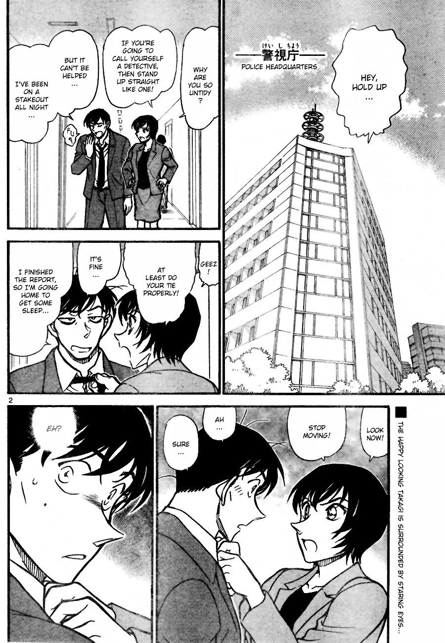 Detective Conan Chapter 705  Online Free Manga Read Image 2