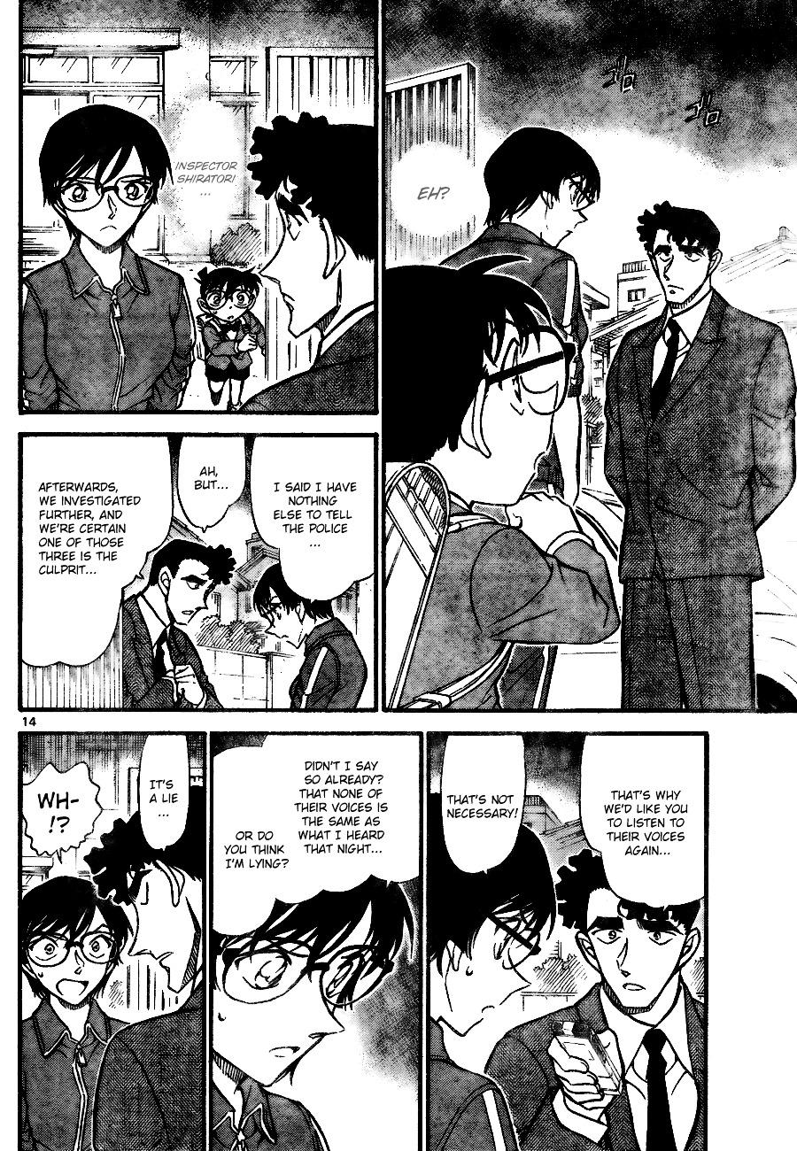 Detective Conan Chapter 707  Online Free Manga Read Image 14